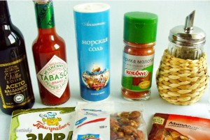 продукты для приготовления орешков